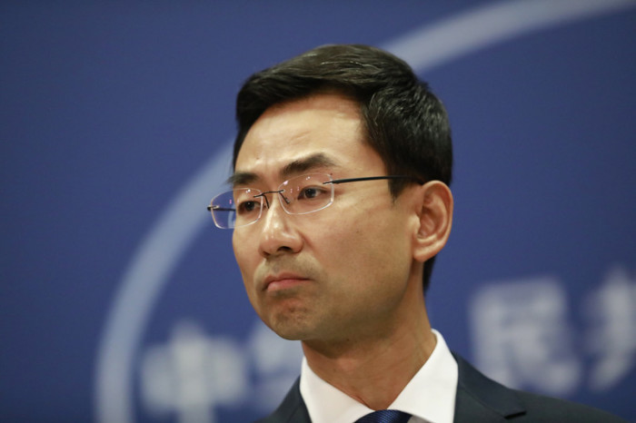 Geng Shuang, Sprecher des Pekinger Außenministeriums. Foto: epa/How Hwee Young