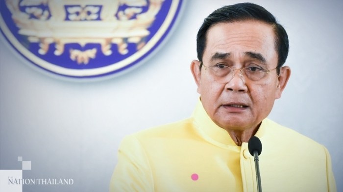 Thailands Premierminister Prayut Chan-o-cha. Foto: The Nation