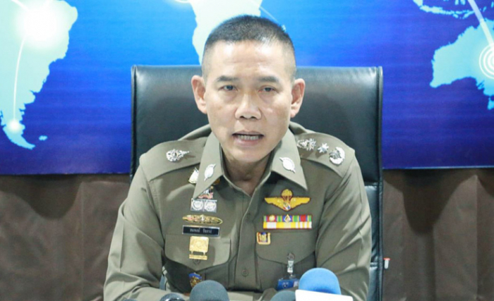 Thailands Immigrationchef Generalleutnant Sompong Chingduang. Foto: The Nation