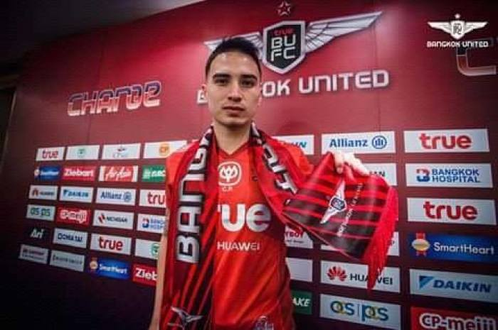 Nationalspieler Tristan Do kickt in der neuen Saison für Bangkok United. Foto: Facebook / Tristan Do