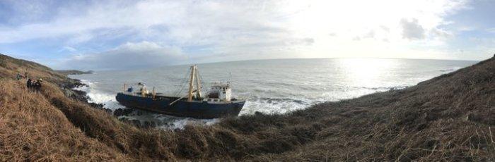Geisterschiff Irland