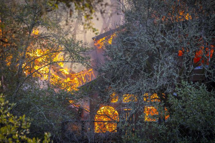 Feuer In Kalifornien 2021