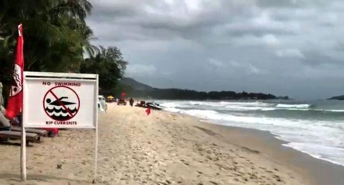 badeverbot f r den chaweng strand thailand. Black Bedroom Furniture Sets. Home Design Ideas