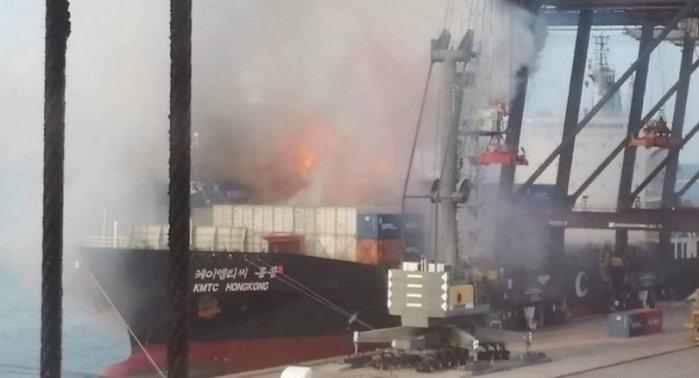 Explosion auf Schiff Sri Racha zur Gefahrenzone erklärt Thailand