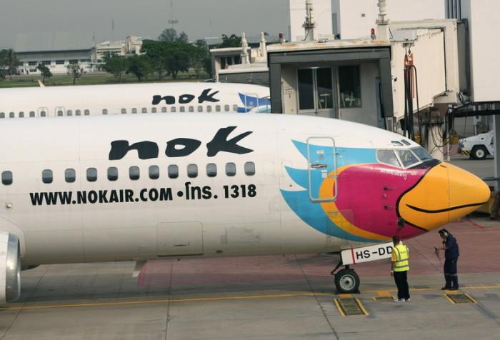 Tur Klemmt Nok Air Kann Nicht Abheben Thailand Nan