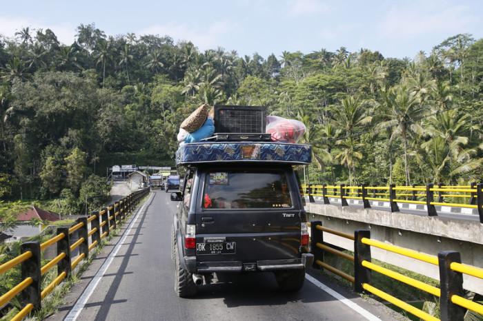 Bali bereitet sich auf Vulkanausbruch vor, Indonesien