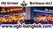 Old German Beerhouse, Bangkok, Tel. 086 070 8749