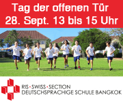 RIS Swiss Section, deutschsprachige Schule Bangkok