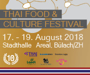 Thai Food & Culture Festival 2018 Bülach, Stadthalle