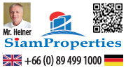 Immiobilienmakler SiamProperties in Pattaya, Tel.: 089 499 1000