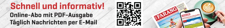 Êtes-vous déjà abonné en ligne? Abonnez-vous à notre magazine PDF en couleur, y compris les nouvelles quotidiennes et la newsletter de l'événement pour peu d'argent.